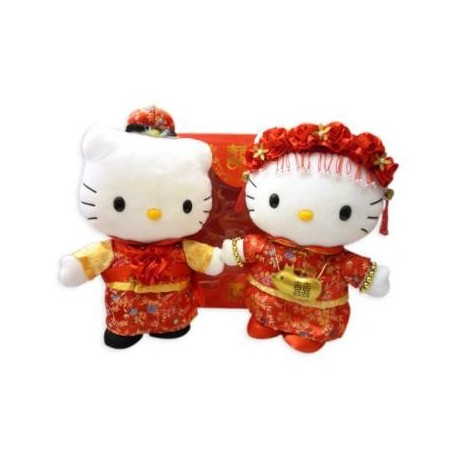 Hello Kitty Wedding Mascot Chinese