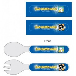 Badtz-Maru Fork & Spoon Set Football