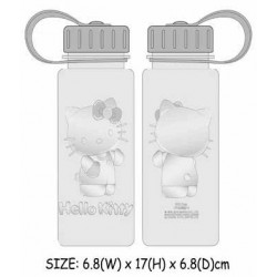 Hello Kitty Water Bottle Emboss 400ml