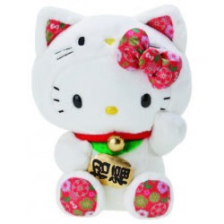 Hello Kitty 8inch Plush: Lucky Cat