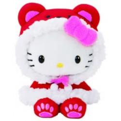 Hello Kitty Mascot Plush: Cape Assorted