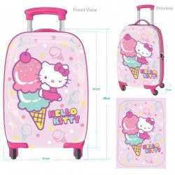 Hello Kitty 16inch Rolling Case Ice-Cream