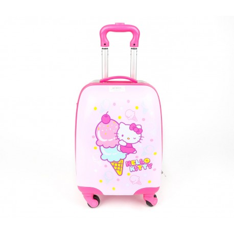 Hello Kitty 16inch Rolling Suitcase Ice-Cream