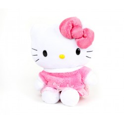 Hello Kitty 12inch Plush: Pink Dots