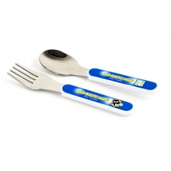 Badtz-Maru Fork and Spoon Set: Sports