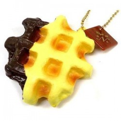 Assorted Squishy Toy Choco&Waffle Shape