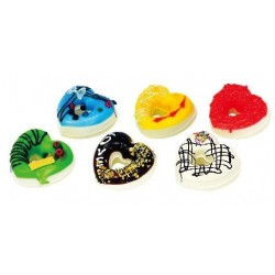 Assorted Squishy Toy Donuts Shape