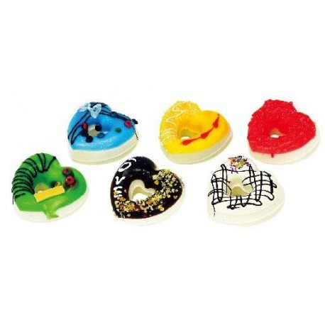 Assorted Squishy Toy Donuts Shape - The Kitty Shop
