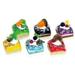 Assorted Squishy Toy Cake Shape