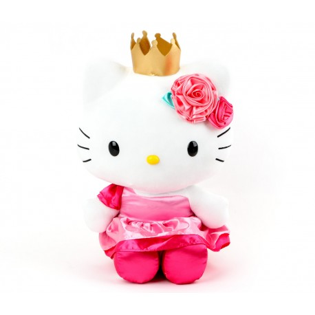 Hello Kitty 18inch Plush Crown Party