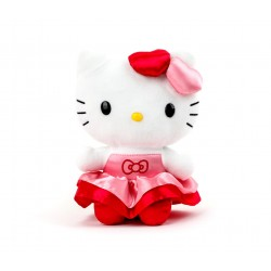 Hello Kitty 8inch Plush Ribbon Party
