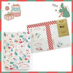 Assorted Sanrio Characters Mini Letter Set Christmas