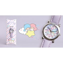Little Twin Stars Kids Analog Watch Star