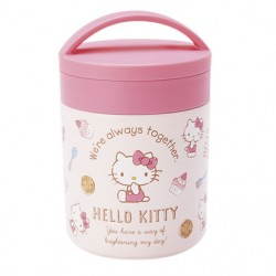 Hello Kitty Stainless Steel Food Jar