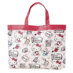Hello Kitty Laminated Tote Bag: Word