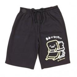 Gudetama Short Pant: Bk