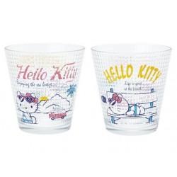 Hello Kitty Drinking Glass: Summer