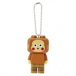 Monkichi LED Light Key Chain: