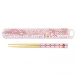 My Melody Chopsticks & Case: Candy