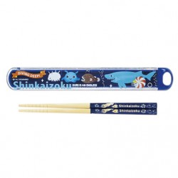 Shinkaizoku Chopsticks & Case: Logo