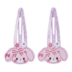 Bonbonribbon 2Pc Hair Clip Set: D-Cut