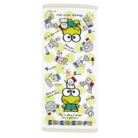 Keroppi Hand Towel: Weather