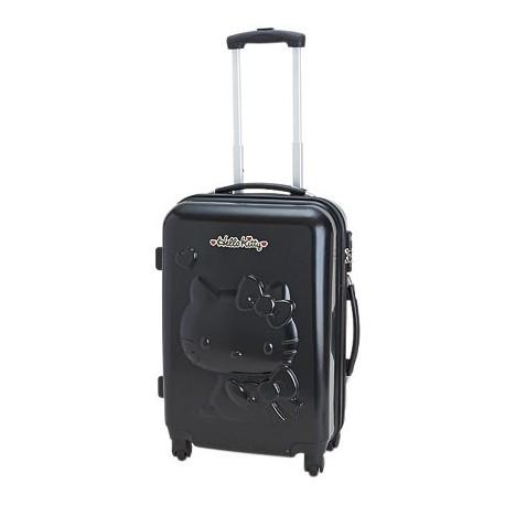 Hello Kitty Rolling Suitcase/luggage : Medium Black