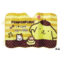 Pompompurin Front Sunshade: Coffee