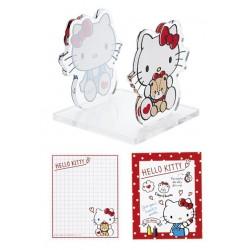 Hello Kitty Memo Stand with Memopad: