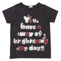Hello Kitty T-Shirt: Black Logo