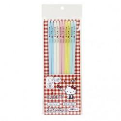 Hello Kitty Plastic Chopsticks Set: