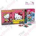 Hello Kitty Box of 4 wood Puzzles