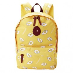 Gudetama Backpack: Pattern