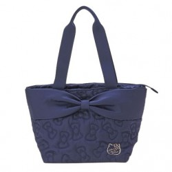 Hello Kitty Tote Bag: Quilt Navy