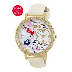 Hello Kitty Analog Watch Snack White
