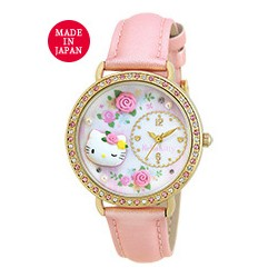 Hello Kitty Analog Watch Rose Pink
