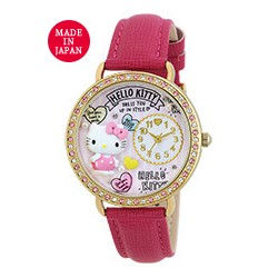 Hello Kitty Analog Watch Heart Red