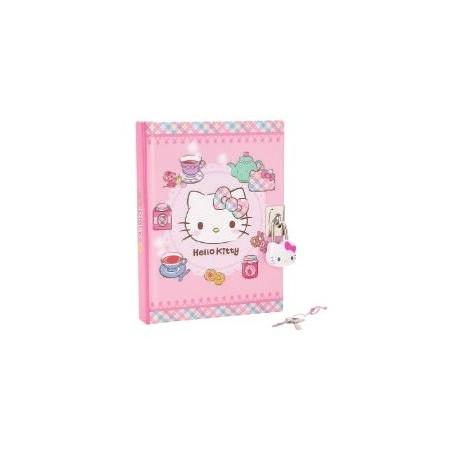 Hello Kitty Locking Diary: Tea Time