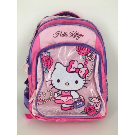 Hello Kitty 16inch Backpack Rose