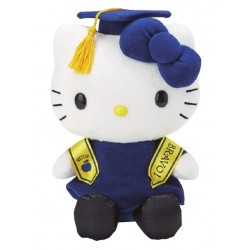 Hello Kitty 8inch Plush: Graduation
