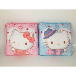 Hello Kitty & Dear Daniel Square Cushion 2Pieces Set Rose