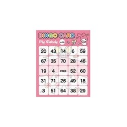 My Melody Bingo Card
