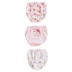 My Melody 3 Pk Panties: 100 Rose