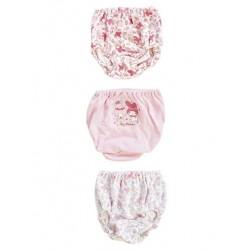 My Melody 3 Pk Panties: 120 Rose