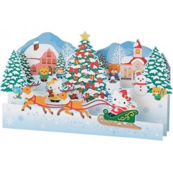 Hello Kitty Xmas Card:Jx 82-8