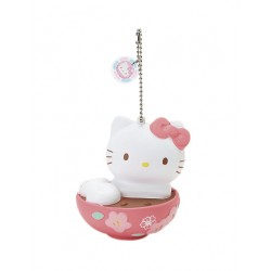 Hello Kitty Key Chain with Mascot: Wakashi