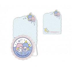 Little Twin Stars Memo Pad & Clip: