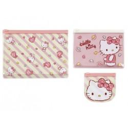 Hello Kitty 3Pcs Vinyl Case: