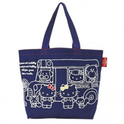 Hello Kitty Tote: Canvas Navy