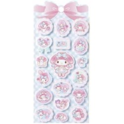 My Melody Felt Stickers: